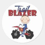 Dirt Bike Trail Blazer Stickers
