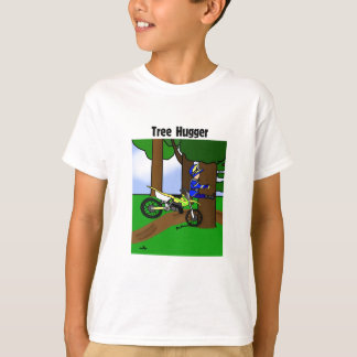 Dirt Bike Tree Hugger Child's T-Shirt