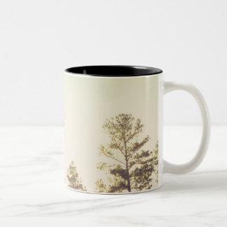 Dirt Bike Two-Tone Coffee Mug