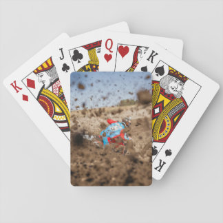 Dirt biker  dirt playing cards