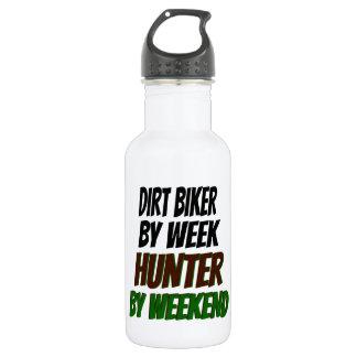 Dirt Biker Hunter Water Bottle