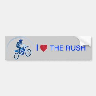 Dirt Biker Vector Biking Car Bumper Sticker