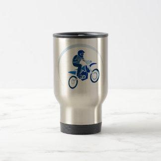 Dirt Biker Vector Biking Travel Mug