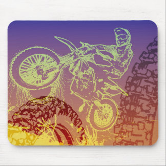 Dirt Biking Gear for dirt motorcycle fans Mouse Pad