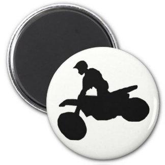 Dirt biking magnet