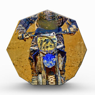 Dirt-Biking Moto-X Champ Designer #Gift Acrylic Award