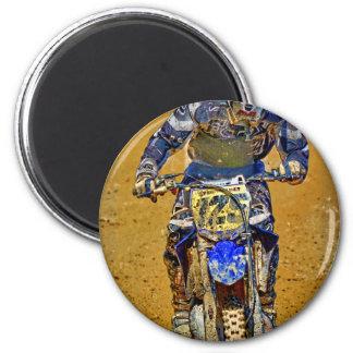 Dirt-Biking Moto-X Champ Designer #Gift Magnet