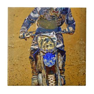 Dirt-Biking Moto-X Champ Designer #Gift Small Square Tile