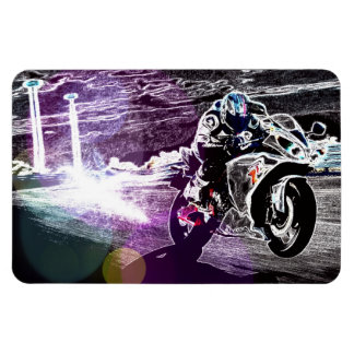 dirt biking motocross racing Motorcycle biker Magnet