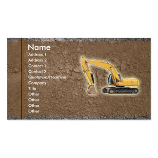 dirt_building Double-Sided standard business cards (Pack of 100)