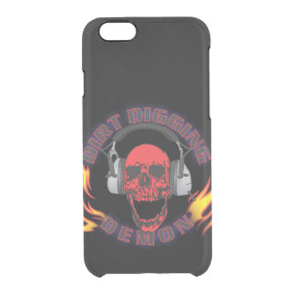 Dirt Digging Demon iPhone 5/6/6s Cover