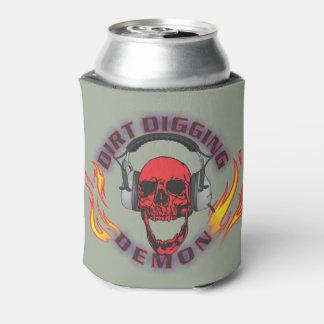 Dirt Digging Demon Koozi Can Cooler