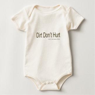 Dirt Don't Hurt #2 Rompers