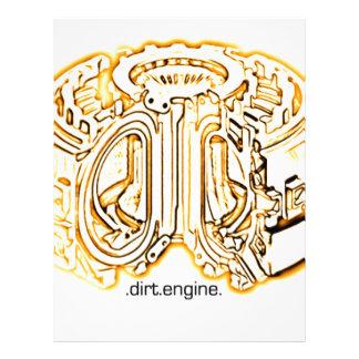dirt engine letterhead template