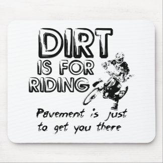 Dirt is for Riding - Dirt Bike Motocross Mousepad