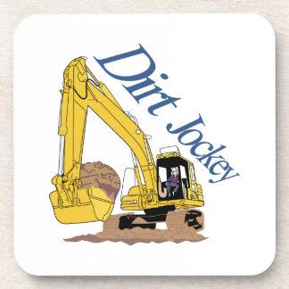 Dirt Jockey Beverage Coasters