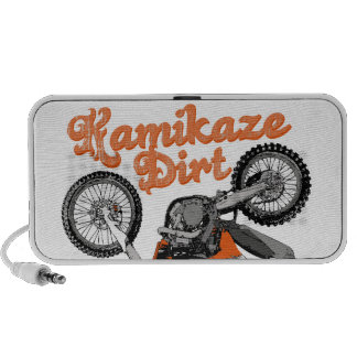 Dirt Kamikaze Notebook Speaker