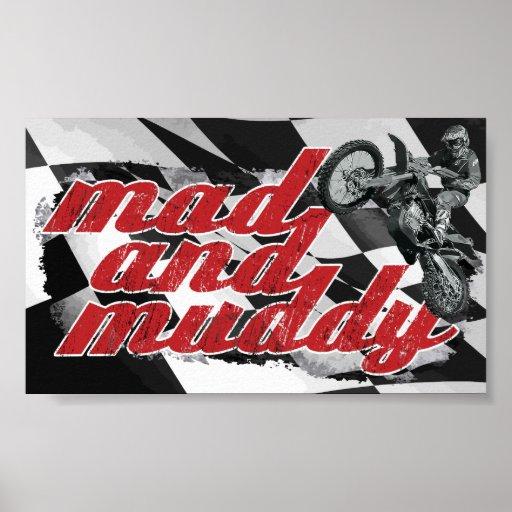 Dirt Motocross Posters