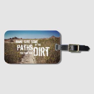 Dirt Path Luggage Tag