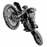 Dirt racing acrylic cut outs