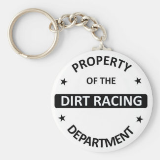 Dirt Racing Department Key Chains