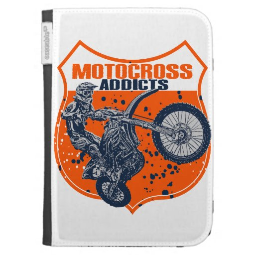 Dirt racing kindle folio case