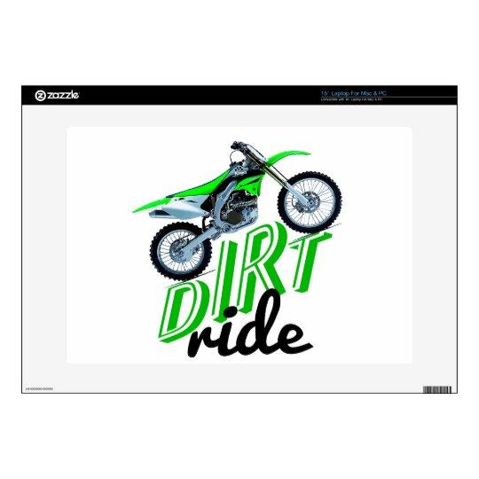 Dirt racing madness laptop decal