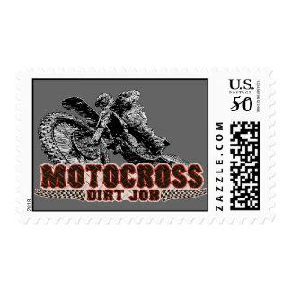 Dirt racing postage