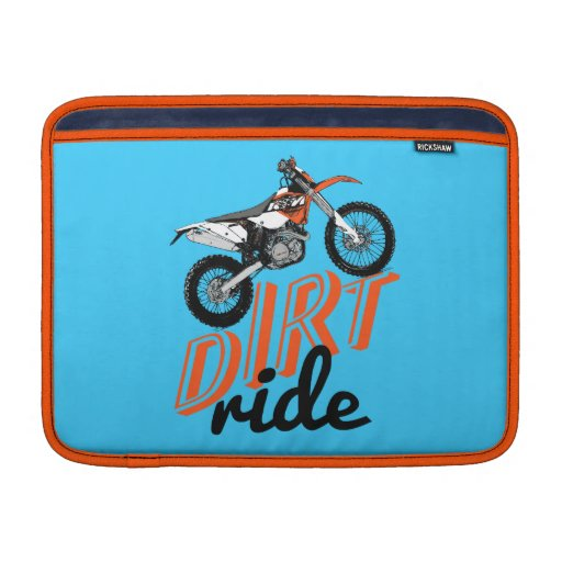 Dirt ride sleeve for MacBook air