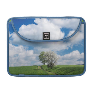 Dirt Road and Apple Trees Sleeve For MacBook Pro