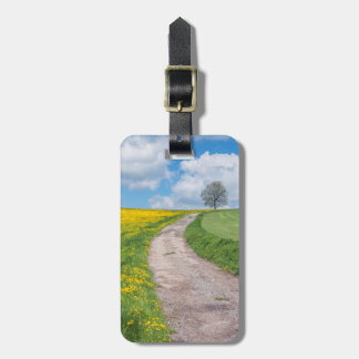 Dirt Road and Tree Luggage Tag