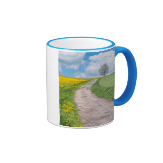 Dirt Road and Tree Ringer Mug