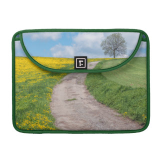 Dirt Road and Tree Sleeve For MacBooks