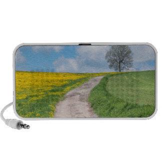 Dirt Road and Tree Laptop Speakers