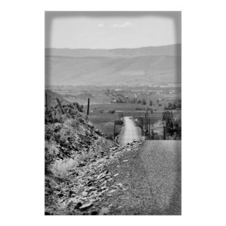 Dirt road back to town... poster