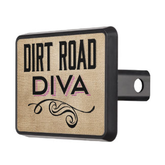 Dirt Road Diva Mudding for Girls Tow Hitch Covers