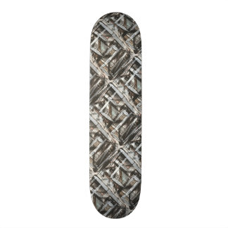Dirt Road-Hand Painted Abstract Brushstrokes Skateboard Deck