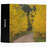 Dirt Road in Autumn Vinyl Binder