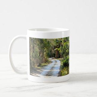 Dirt Road in Micanopy, Florida Coffee Mug