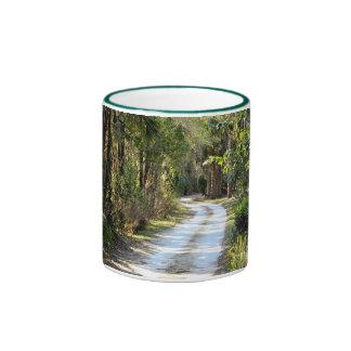 Dirt Road in Micanopy, Florida Ringer Mug
