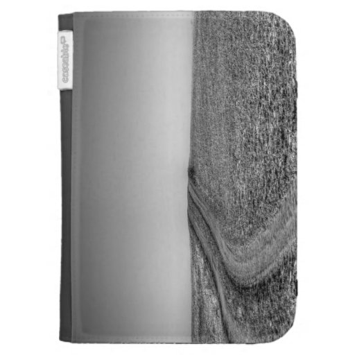 Dirt road over frosted pasture kindle keyboard case