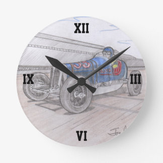 DIRT TRACK RACER clock