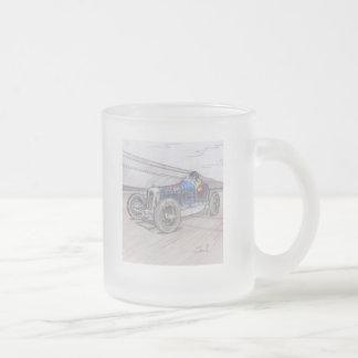 DIRT TRACK RACER mug frosted glass