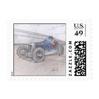 DIRT TRACK RACER stamps