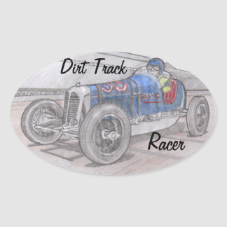 DIRT TRACK RACER stickers (4)