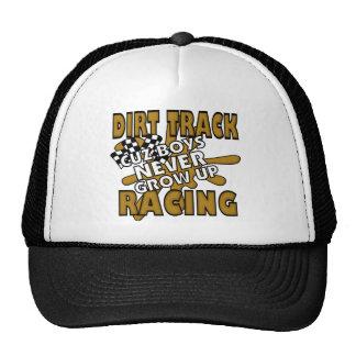 Dirt Track Racing Cuz Boys Never grow Up Trucker Hat