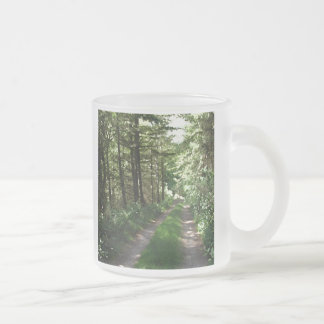 Dirt Track Through Trees Mug