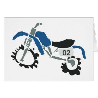 dirtbike006 greeting card