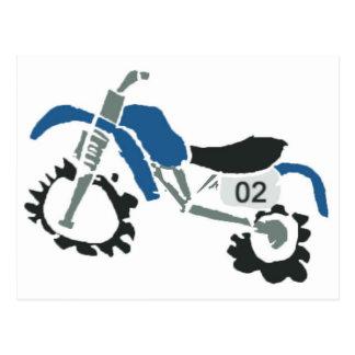 dirtbike006 tarjetas postales