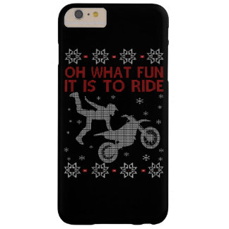 Dirtbike Christmas Barely There iPhone 6 Plus Case